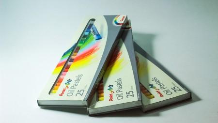 Màu sáp Oil Pastels(Pentel)25 màu