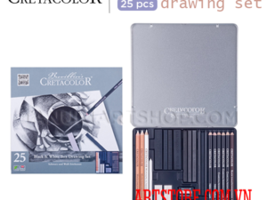 Set chì Brevillier's cretacolor Black & White drawing set 25