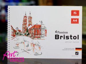 Tập Vẽ Lò Xo Passion Bristol A4