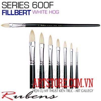 CỌ SƠN DẦU RUBENS 600F – CỌ ĐẦU FILBERT