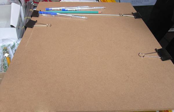 Bảng vẽ luyện thi tượng gỗ khổ A3