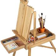 Giá vẽ tranh gỗ xếp gọn