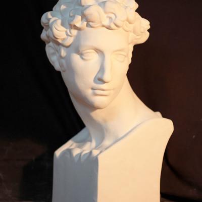 Đầu tượng thạch cao Busto Juliano de Medici MS36