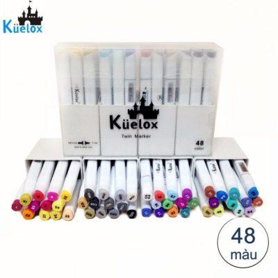 Bút Marker Fine Colour Kuelox Set 48 Màu