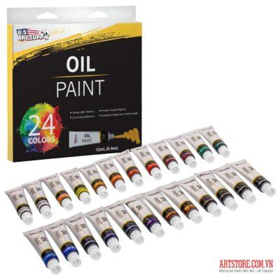 Bộ sơn dầu U.S. Art Supply-24 màu