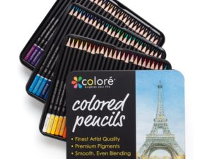 Colore – 72 Bút chì màu Premium Pre-Sharpened Set