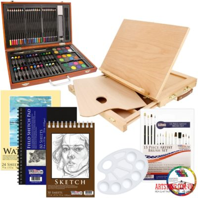 Bộ màu vẽ đa năng-Deluxe Art Set(order)