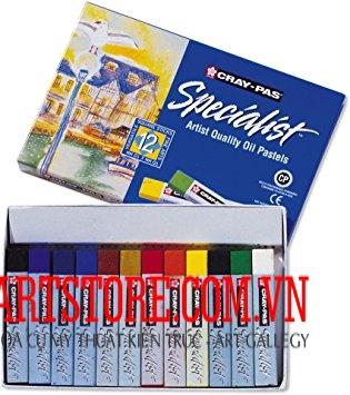 Sáp Dầu Cao Cấp Sakura Cray-Pas Specialist 12 Màu