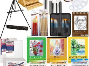 Bộ vẽ đa năng US Art Supply 133pc Deluxe Artist Painting Set(ORDER)
