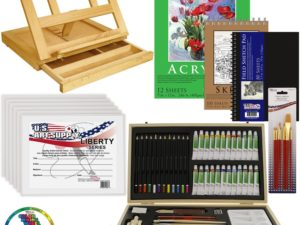 Bộ vẽ đa năng US Art Supply 68-Piece(ORDER)