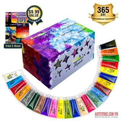 Bộ màu acrylic Magikolor-24x30ml