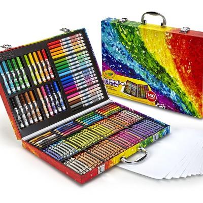 Bộ vẽ đa năng Crayola Inspiration Art Case-140pcs(ORDER)