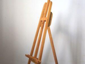 Giá vẽ khung gỗ thổi pu cánh dán 90cm