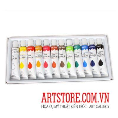 Bộ sơn dầu US Art Supply 12 ống(order)