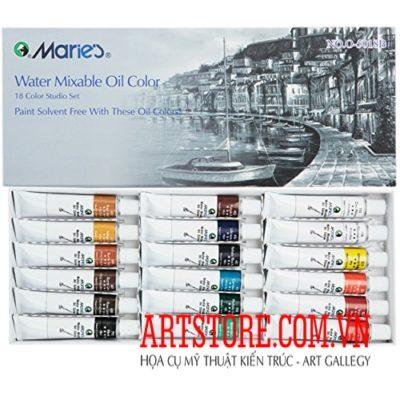 bộ màu sơn dầu Marie (order)
