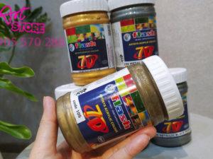 Màu Acrylic Nhũ Đồng 7d Flash Ấn Độ 300ml