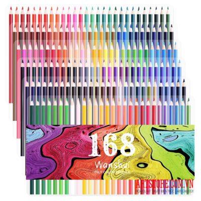 168 Bút chì màu Wanshui
