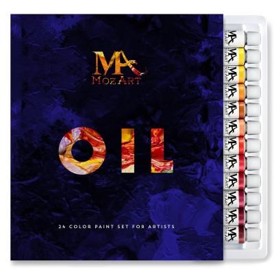 Bộ sơn dầu MozArt – 24 màu sơn 12ml ống(order)