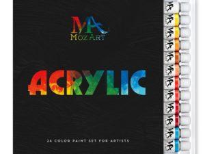 Bộ sơn acrylic Mozart-24x12ml