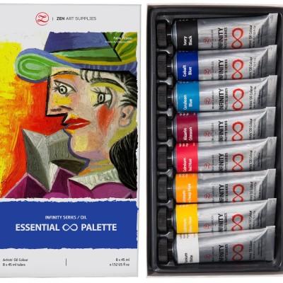 Bộ sơn dầu ZenART's ESSENTIAL Palette(order)