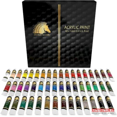 Acrylic Paint Set 48x12ml – MyArtscape(order)