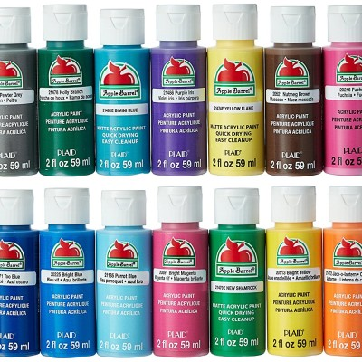 Barrel Acrylic Paint Set của Apple, 18 Piece(order)