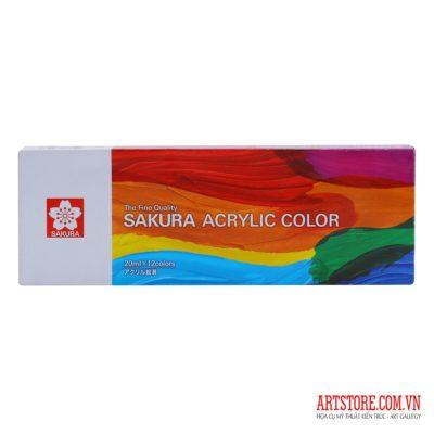 [TK]Bộ 12 Màu Acrylic Sakura