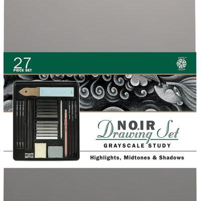 Bộ chì vẽ Drawing Noir set 27pcs(order)