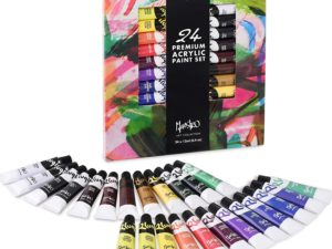 Bộ màu acrylic Pluqis Maestro Fine Art Premium-24pcs