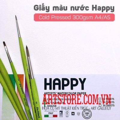 Giấy Happy Drawing A5 300gsm