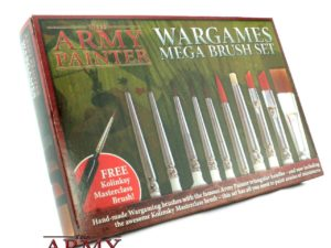 Bộ cọ Wargames Mega -The Army Painter 10pcs