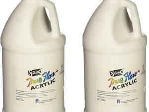 Bộ màu acrylic Sax True flow trắng 2pcs