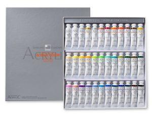 Bộ màu acrylic ShinHan Professional 36x20ml