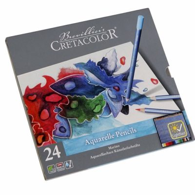 Chì màu nước Cretacolor Aquarelle Pencils 24 màu