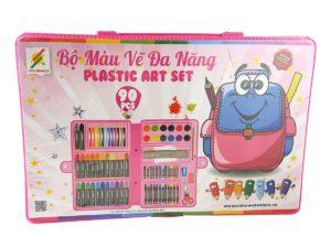 Bộ Màu Vẽ Đa Năng Hộp Nhựa Colormate P90