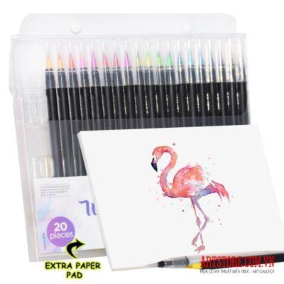 Bộ bút màu nước iPro Pens 20+1pcs(order)