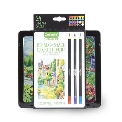 Bộ màu chì Crayola Blend & Shade 24pcs