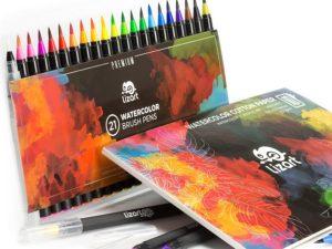 Bộ bút màu nước LizART 21pcs(order)