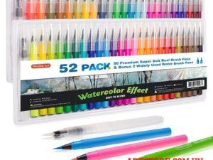 Bộ bút màu nước Shuttle Art 52 Pack(order)