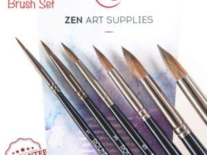 Bộ cọ ZenArt Supplies 6pcs