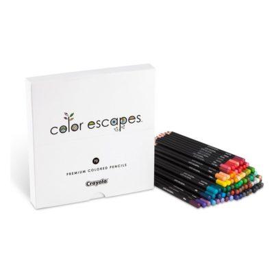 Bộ màu chì Crayola Color Escapes 72