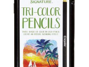 Bộ màu chì Crayola Tri-Color Pencils 12pcs