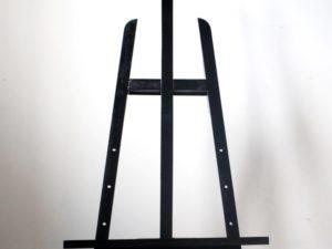 Giá vẽ khung gỗ sơn đen 120cm