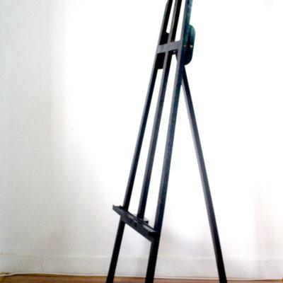 Giá vẽ khung gỗ đen 1m4
