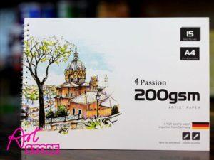Tập Vẽ Lò Xo Passion 200gms A4