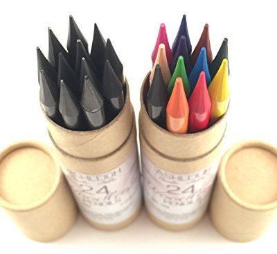 Bộ bút chì+chì màu Ashleigh Nicole Arts 24pcs
