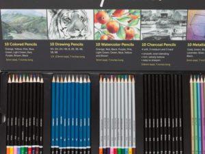 Bộ chì vẽ Colore Premium Art 50pcs