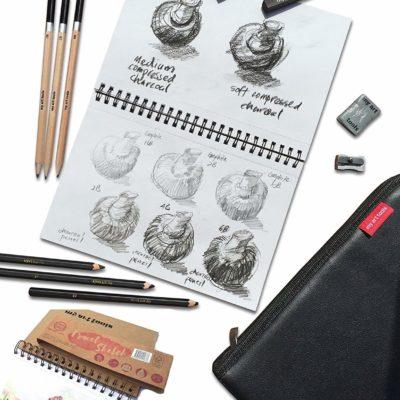Bộ chì vẽ My Art Tools 10pcs(order)