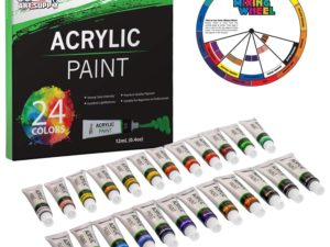 Bộ màu Acrylic U.S. Art Supply 24pcs