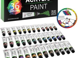 Bộ màu Acrylic U.S. Art Supply 36pcs